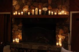 Breathtaking Candles In Fireplace Pictures Ideas ...