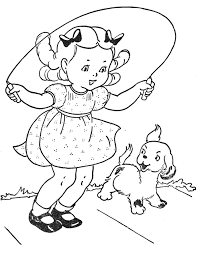 Small Picture Jumping rope alone or with friends from the book Favorite Paint