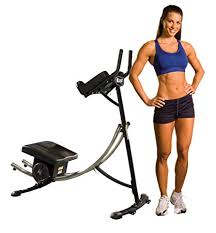 ab coaster black ultimate ab workout six pack exercise machine for home as seen