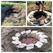 building an inground fire pit ideas for creating your own in ground fire pit diy in building an inground fire pit
