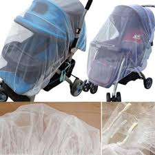 1Pcs White Infants <b>Baby Stroller Pushchair Mosquito</b> Insect Net Safe ...