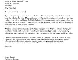 210 x 140 cover letter office assistant office administration cover letter