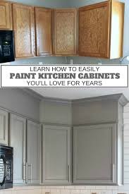 painted kitchen cabinets. Such A Great Tutorial On How To Paint Kitchen Cabinets! You Learn About All The Painted Cabinets T