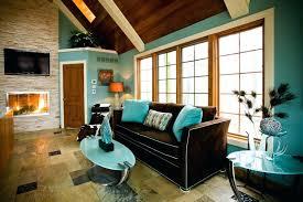 aqua and brown living room decor gull blue walls ideas aqua and brown living room decor gull blue walls ideas