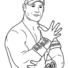 Small Picture wwe coloring pages john cena Coloring Pages Ideas