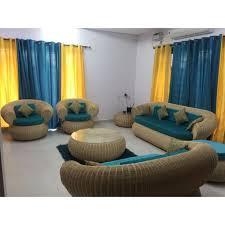 bamboo sofaset tanishq cane sofa set