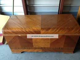 antique art deco bedroom furniture. 1945 Antique Art Deco Waterfall Style Lane Cedar Bedroom Hope Furniture Photo E