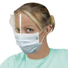 Disposable Pleated Mask With Faceshield Wasip Ltd
