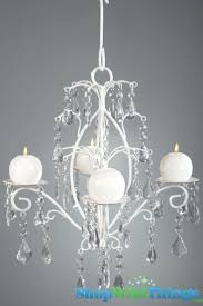 chandeliers candle chandeliers non electric rachelle crystal white hanging candle chandelier medium 4399 love probably