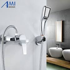 bathtub faucet and shower head. aliexpress.com : buy simple set bathroom shower faucets bathtub faucet mixer tap with hand head sets from reliable w suppliers on and
