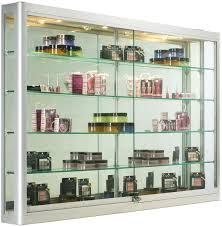 wall mounted display cabinets