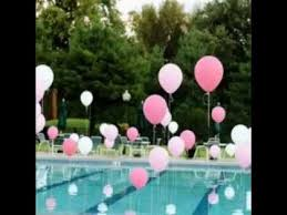 Pool decorations ideas