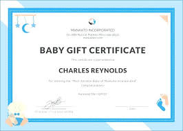 T Certificate Maker Baby Birth Generator Office Gift Template Rhumb Co