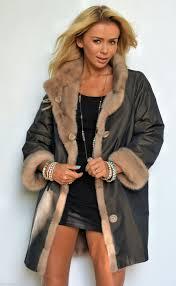 mink furs milano reversible palomino royal saga mink fur coat