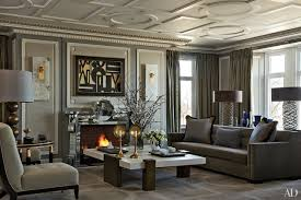 gray living room ideas. in the living room of a chicago apartment designed by jean-louis deniot, gray ideas
