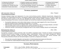 Java Technical Architect Resume Nmdnconference Com Example