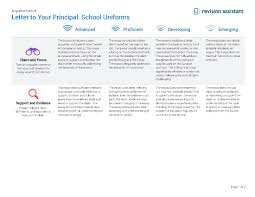 letter to your principal school uniforms guides turnitin com letter to your principal school uniforms