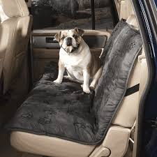 pawprint back seat cover for dogs