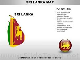 Country Powerpoint Maps Sri Lanka Powerpoint Diagram
