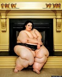 Morbidly obese naked women