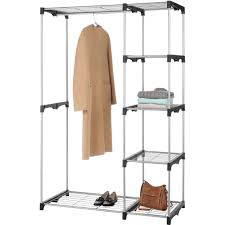 whitmor double rod closet organizer