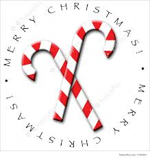 Candy Cane Design Holidays An Illustrated Icon For Christmas Featuring White And Red Striped Candy Canes