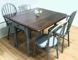 diy shabby chic dining table and chairs. vintage drop leaf dining table 4 chairs extending victorian rustic shabby chic in home, furniture \u0026 diy, furniture, chair sets diy and t