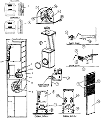 Coleman furnace parts diagrams images gallery