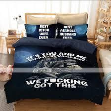 duvet cover sets 3d poly cotton 100 cotton reactive print 3 piece bedding sets king 06691818