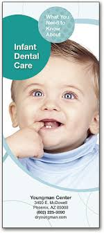 baby pamphlets pediatric brochures explain childrens dental care smartpractice