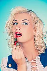 the look of a pin up