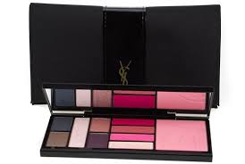 yves saint lau ysl devoted makeup eyeshadow maa blusher lipgloss palette