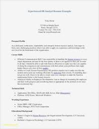 Resume Example With No Education Unique Resume Sample Skills Valid ...