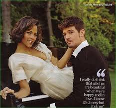 paula patton and robin thicke 16. Robin Thicke And His Wife Paula Patton In 16