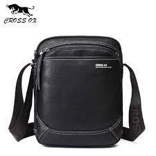 <b>CROSS</b> OX Genuine <b>Leather</b> Handbag <b>Men</b> Shoulder Bag Business ...