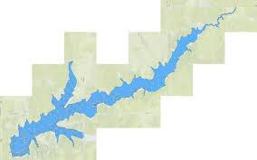 Mozingo Lake Depth Chart Lake Icaria Fishing Map Us_ia_00457743 Nautical Charts App