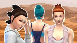 Rey Hair Style my sims 4 blog reys hairstyle for females by kiara24 5771 by stevesalt.us