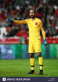 Turkey goalkeeper Volkan Babacan Stock Photo - Alamy