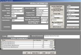 vehicles maintenance records fleet maintenance software