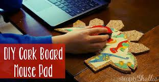 corkboardmousepadfb make homework and study time more fun with a diy cork board mousepad