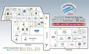 dhs 2017 chicago auto show 25 should see vehicles things to do 2017 chicago auto show floor map mccormick place