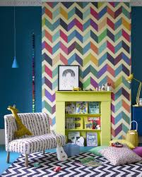Multi-Coloured Zig Zag Pattern ...
