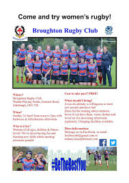 broughton high brohighofficial twitter come one come all women s rugby taster session sun 16 apr 12pm 2pm wardie playing fields pls share bring your friends bbq afterpic com