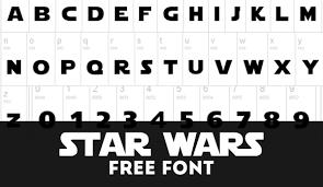 Star Wars Font (September 2020 ...