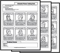 Womens History Month Worksheets