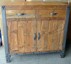 iron industrial furniture. industrial sideboard with iron trim furniture interiors online u0026 decorating r