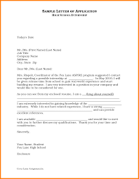 6 Sample Of Internship Letter Pdf Global Strategic Sourcing
