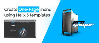 One Page Menu Template Free How To Create One Page Menu Using Helix 3 Templates