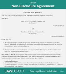 Simple Nda Template Free Non Disclosure Agreement Template Free Nda Us Lawdepot Simple