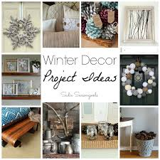 winter décor project ideas repurposing vintage rustic and natural
